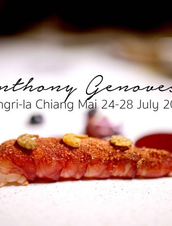 Anthony Michelin Starred chef in Chiang Mai